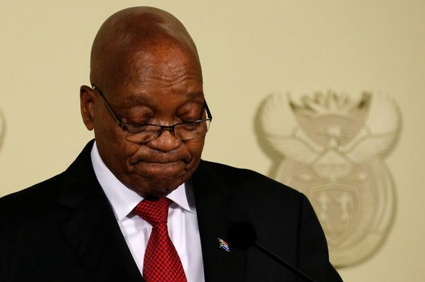 Jacob Zuma bows to pressure… resigns as South Africa's president